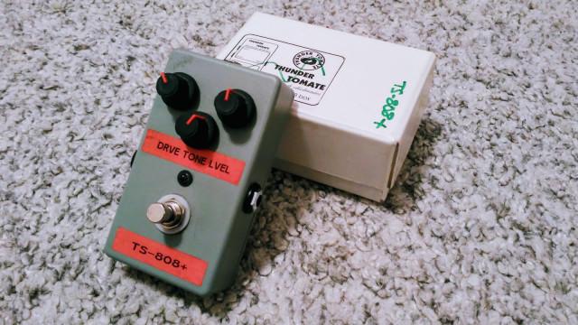 Pre-Thundertomate overdrive TS 808+ (Envío incluido)