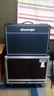 Vendo George Thunderbird +flightcase....1350eur.