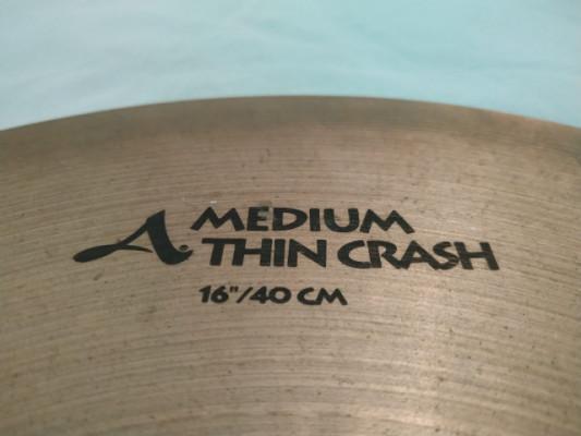Zildjian Avedis Medium Thin Crash de 16 - envío 24h incluido