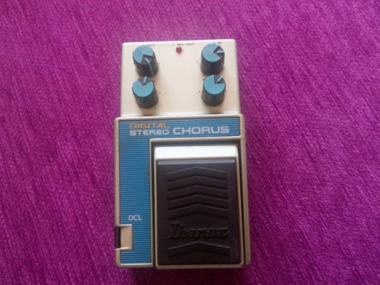 Pedal vintage Ibanez Chorus Dcl de los 80s made in Japan