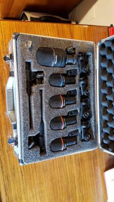 Set de microfonos para beteria Superlux DRK K5C2