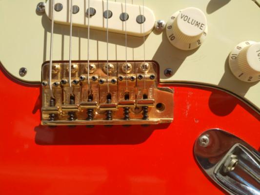 Partcaster Strato, Clapton neck, Lindy Fralin