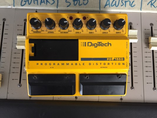Distorsion-Overdrive Digitech PSD 1550