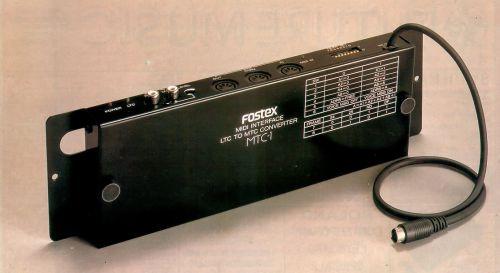 Fostex MTC-1