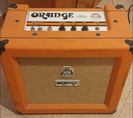 Amplificador a válvulas ORANGE TINY TERROR