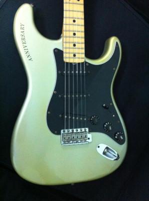 Fender Stratocaster 25 anniversary 1979 Ltd. Edition Porsche Metallic