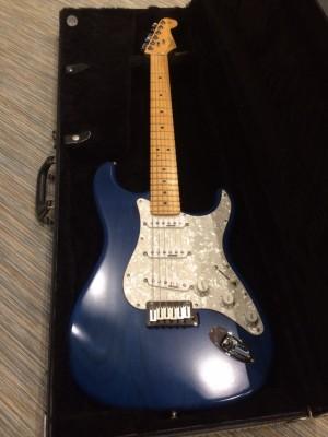 Fender Stratocaster hecha a medida