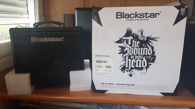 Amplificador Blackstar HT1R Metal