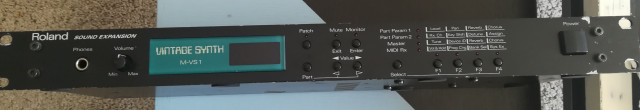 Roland M-VS1 Vintage Synth Sound Expansion