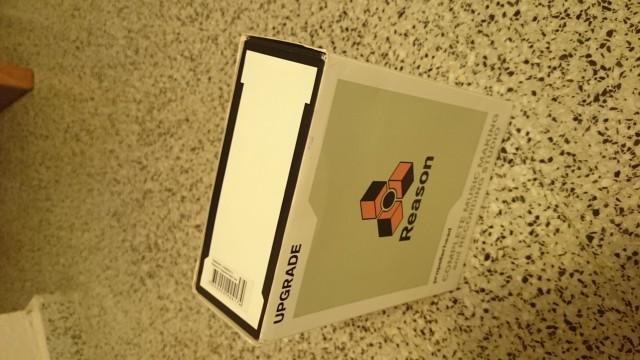 Vendo traspaso de licencia Reason 6.5.3 con key y caja originales. Envio gratis a toda España