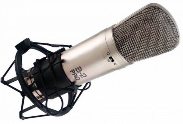 Mcrófono de estudio Behringer B2 Pro OPTIMIZADO