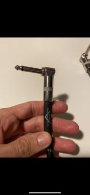 2 cables patch fender custom shop