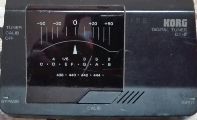 Afinador Korg Digital Tuner DT-2