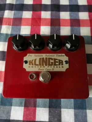 Klinger Buzz Fuzz II (Burns Buzzaround - Tone Bender mk III)