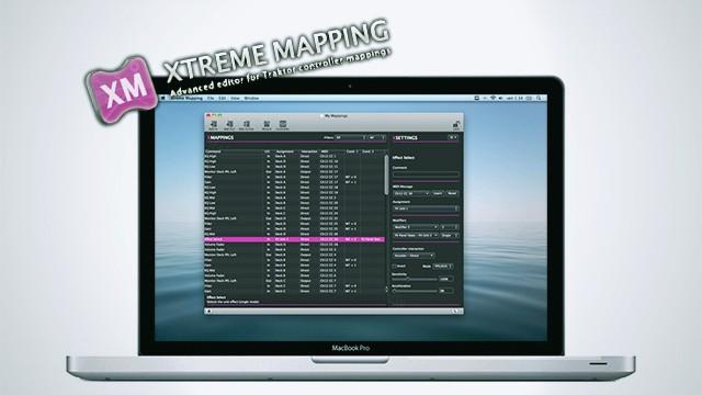Xtreme Mapping - Editor Midi - Native Instruments Traktor