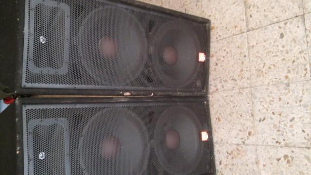Cajas JBL jrx100