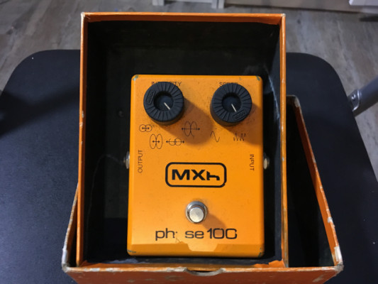 MXR Phase 100 Vintage Block Logo (70´s)