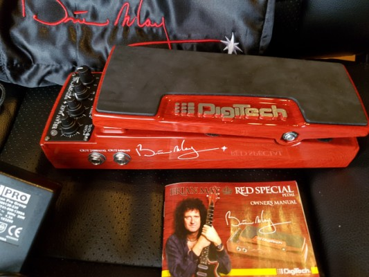Brian May Signature Pedal Digitech, Coleccionista!