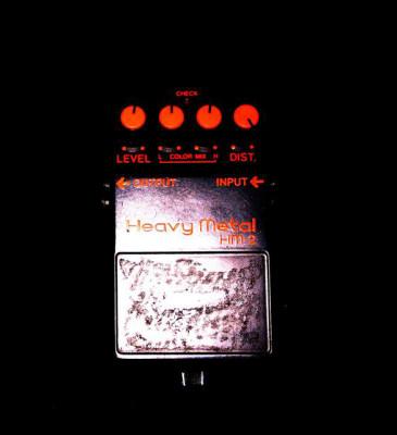 Distorsion Boss Heavy Metal Hm-2 1988