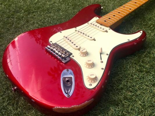 Rebajada!!Stratocaster muskraft/fender