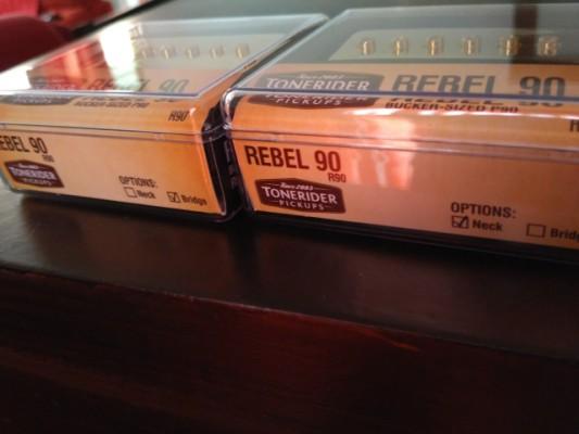 Pastillas Tonerider Rebel 90