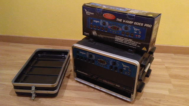 Amplificador de guitarra: etapa transistores + previo + pedalera