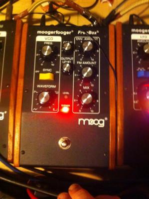 Moog moogerfooger freq-box
