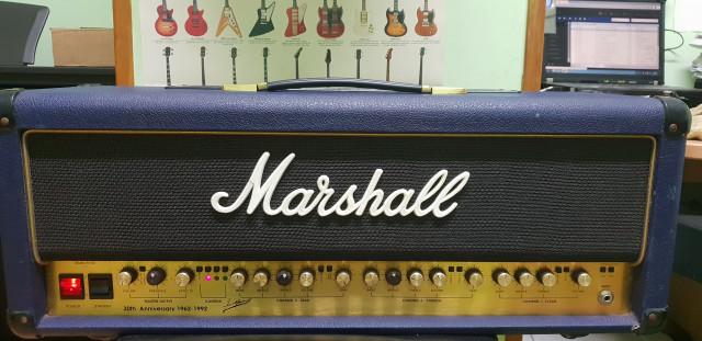 Marshall 6100 30 aniversario+pedalera
