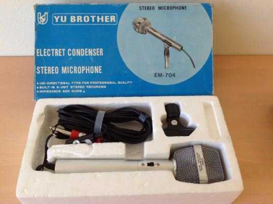 Micrófono vintage estéreo yu-brother