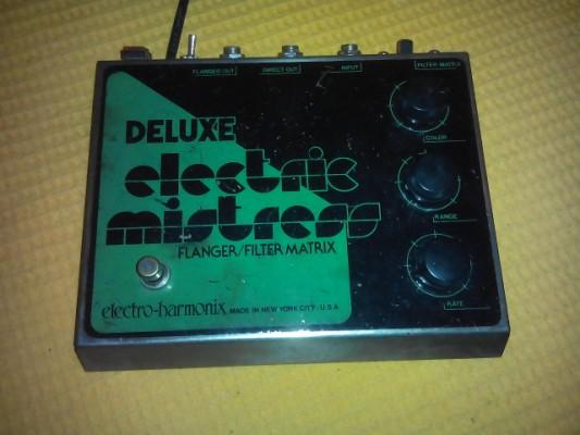 Pedal flanger electroharmonix vintage