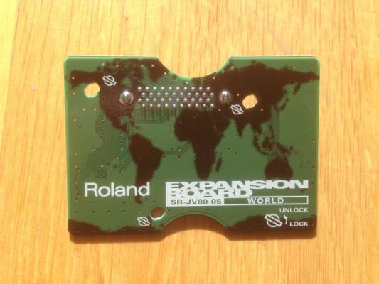 Tarjeta de sonidos Roland SR-JV80-05 World