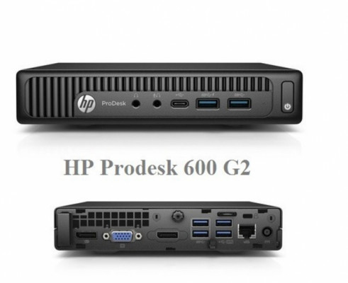 MicroPC HP prodesk intel c0re i5-i7 8-32GB SSD NVMe + HDD Win 7/10 pro