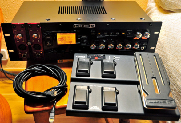Line 6 POD X3 Pro (procesador de guitarra en rack para estudio)
