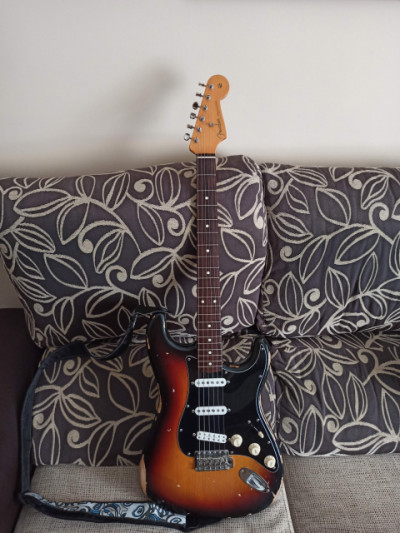 Fender Stratocaster Classic 60 Relic Texas special y 59