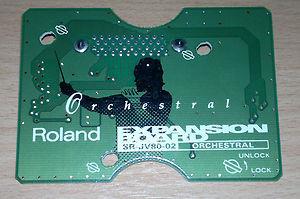Tarjeta de sonidos Roland SR-JV80-02 Orchestral