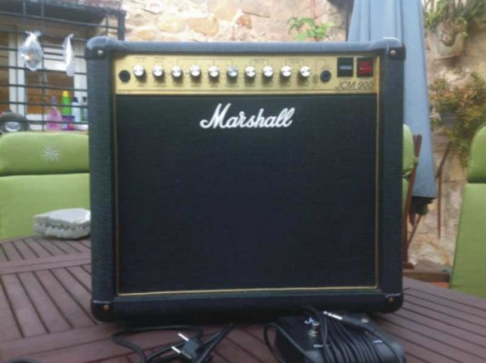 Vendo marshall jcm 900 higt gain dual revert 4501 made in england