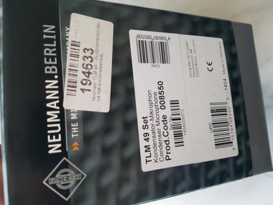 Neumann tlm49 49 nuevo