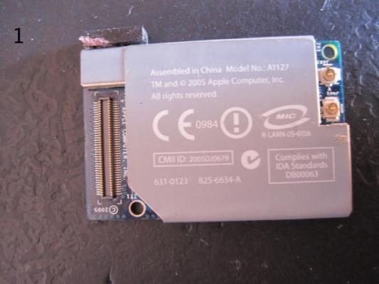 Modulos wifi o bluetooth para Mac