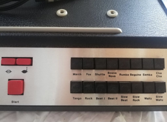 Vermona ER9 Drum Machine