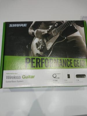 shure wireless Guitar/bass