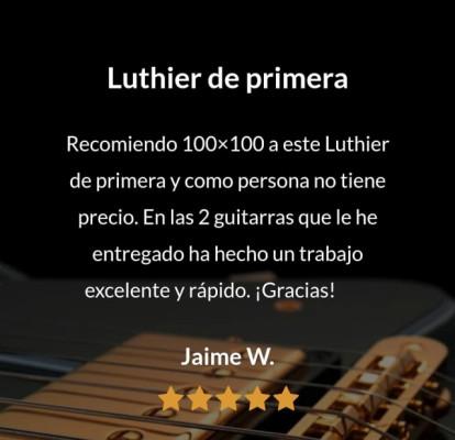 Luthier acústicos y eléctricos