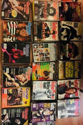 Colección guitarplayer americanos137/españoles 56