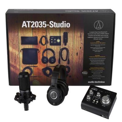 Pack AT2035 Studio Nuevo Ex-demo con factura y envío