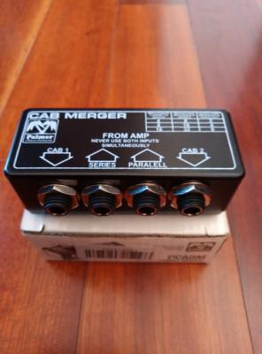 Adaptador de impedancia para pantallas. Palmer CAB MERGER.