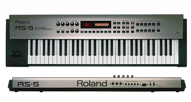 Vendo Sintetizador Roland RS-5