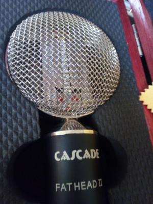 Micrófono de cinta Cascade Fat Head II USA Envío incluido