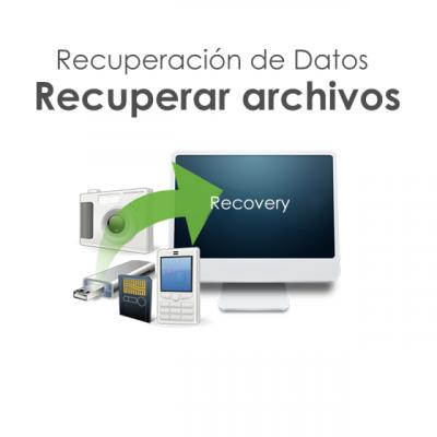 Recuperación de datos de disco duro y backup