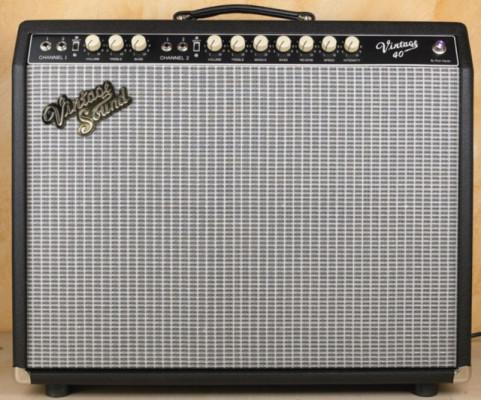 """VINTAGE SOUND 40 2x10"""" - Fender Vibroverb Boutique - REBAJADO!!!!"""
