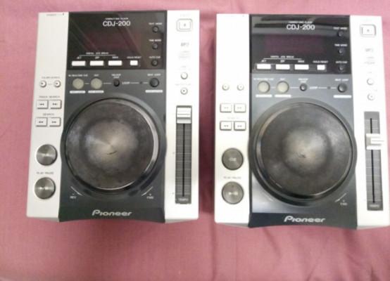 Pioneer cdj 200 (2 unidades)