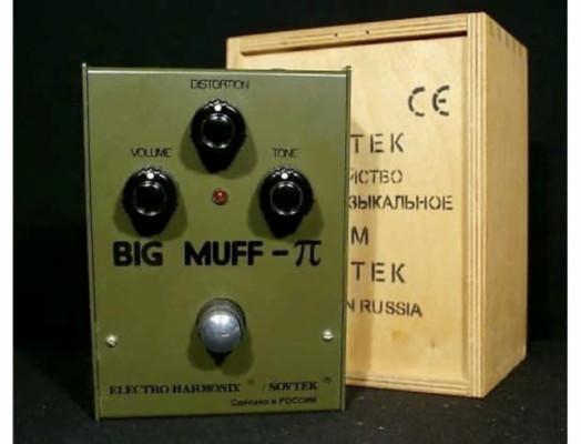 Compro EHX Sovtek Big Muff ruso Verde